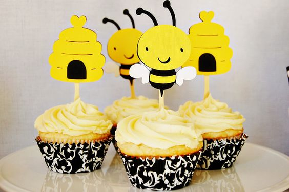 Bumblebee Baby Shower Party Ideas | Photo 1 of 8 | Catch My Party