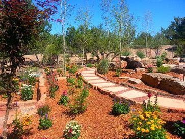 Xeric & Hardscaping - southwestern - Landscape - Albuquerque - PROSCAPE LANDSCAPE MANAGEMENT