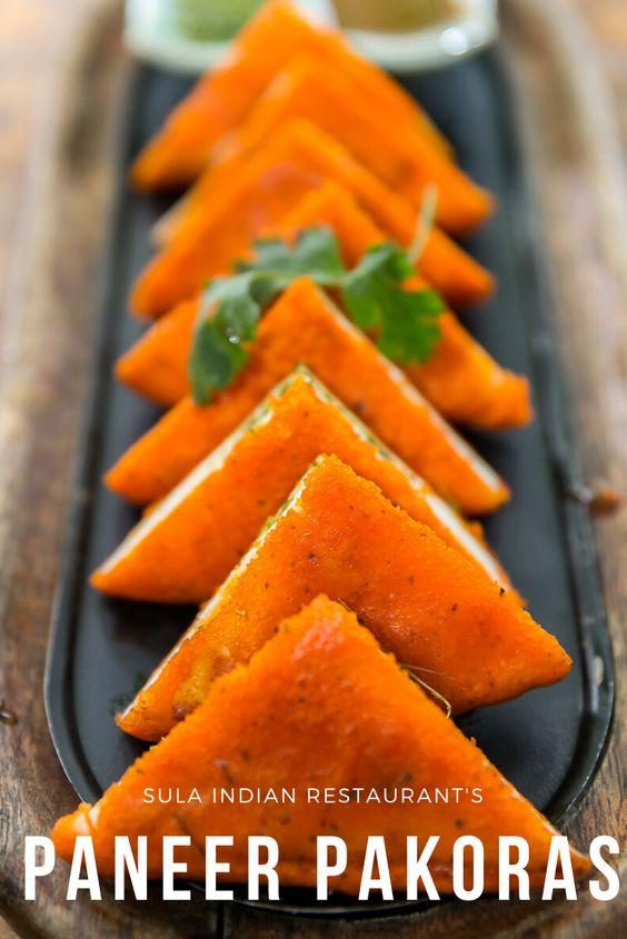 Paneer Pakoras by Sula Indian Restaurant Vancouver