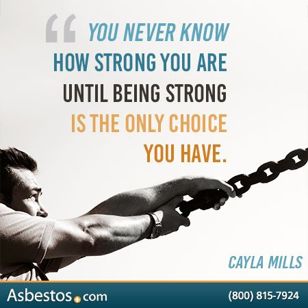 """""""You never know how strong you are until being strong is the only choice you have."""" -Cayla Mills #ThankfulTuesday"""