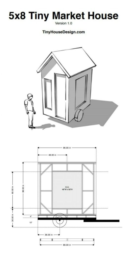 17 Do It Yourself Tiny Houses With Free Or Low Cost Plans Micro House Plans Shed To Tiny House Tiny House