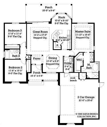 Pinterest the world s catalog of ideas for House plans with garage on side