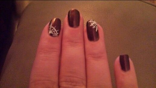 Made by Wan. Halloween nails