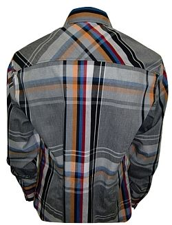 House of Lords Multi-Color Plaid Shirt 79$