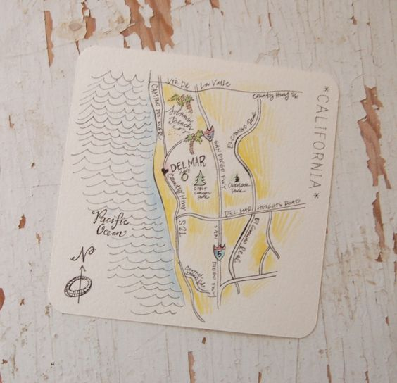 Illustrated Maps...more invites on website