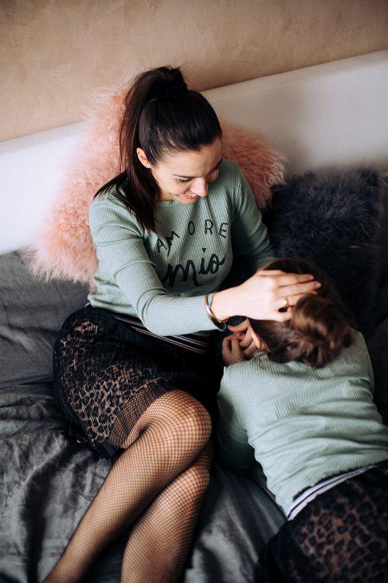 Mini Me-Outfit: Der perfekte Partnerlook für Mutter und Tochter | BEAUTY MAMI