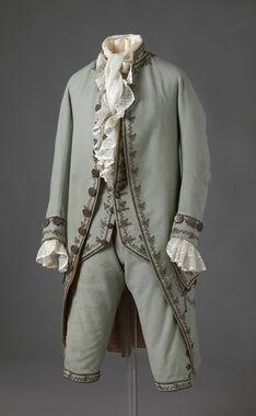 Man's suit, Norwegian, 1783