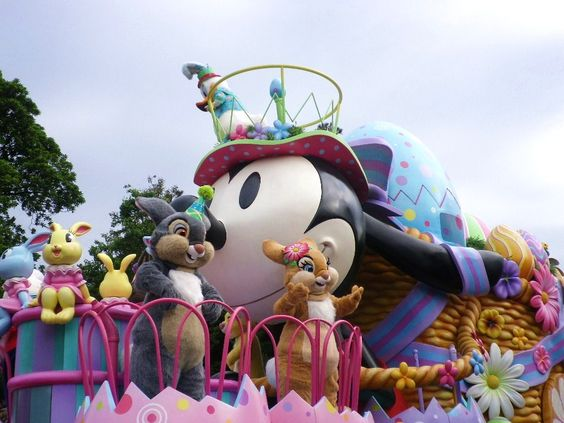 Easter Wonderland Parade, TDL