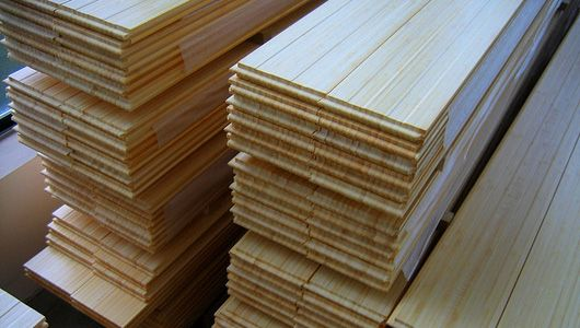 Bio composite materials articles woods and wood siding for Synthetic wood siding