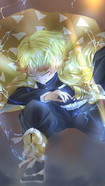 Zenitsu Agatsuma Lightning Kimetsu No Yaiba 8k 7680x4320 38402x160 1920x1080 2160x3840 1080x1920 Wallpaper Anime Demon Zenitsu Agatsuma Slayer Anime 1920x1080 full hd zenitsu wallpaper