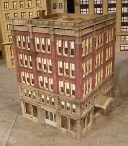 HO Scale Buildings and Structures | HO Scale Building Lunde Studios Bon Ton Built Weathered Structure ...