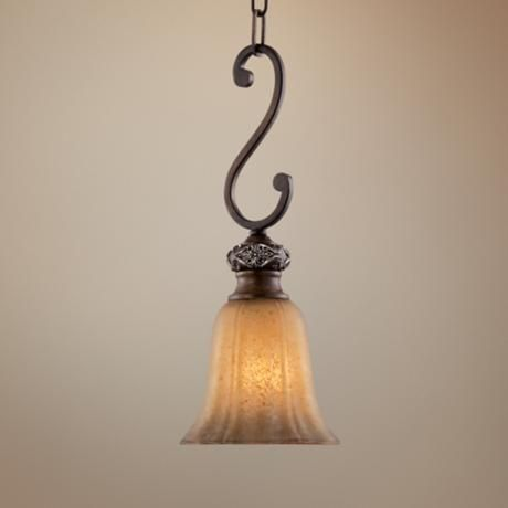 Kathy Ireland Sterling Estate Mini Pendant Light