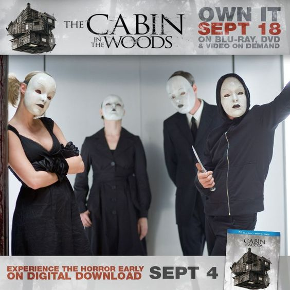 the dolls from the cabin in the woods inspired by the