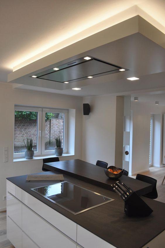 30 Stunning Kitchen Ceiling Ideas 2020 For Stylish Kitchen Dovenda Popular Kitchen Designs Home Decor Kitchen Modern Kitchen Design