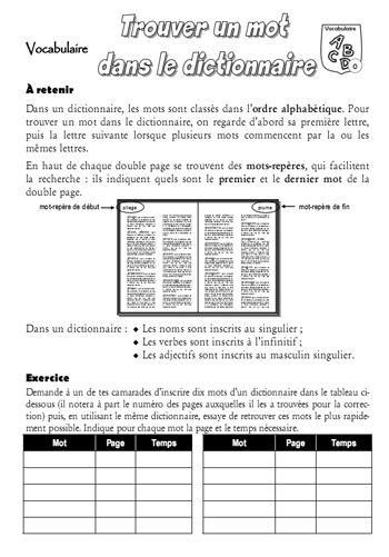 Vocabulaire recherche dans le dictionnaire fran ais for Dans wiktionnaire