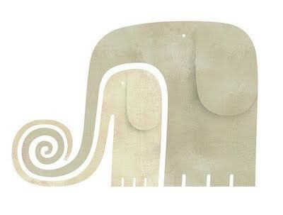 great idea for paper piecing .. . i love elephants. makes me think of my great grandma