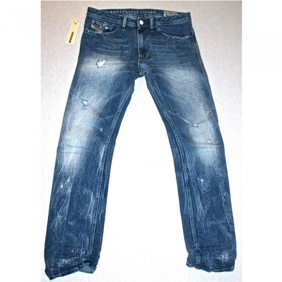 Diesel Shioner 74Z Mens Jeans | DNA | Light Exposure | 0074Z ...