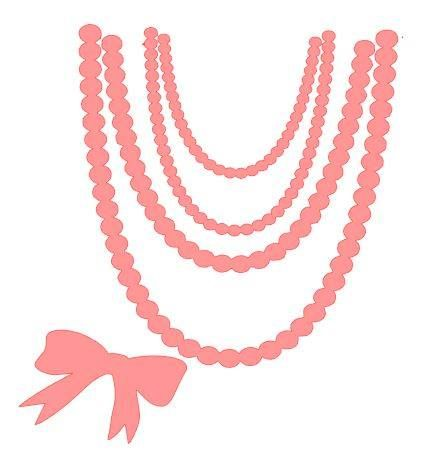 Pearl Necklace Svg Free