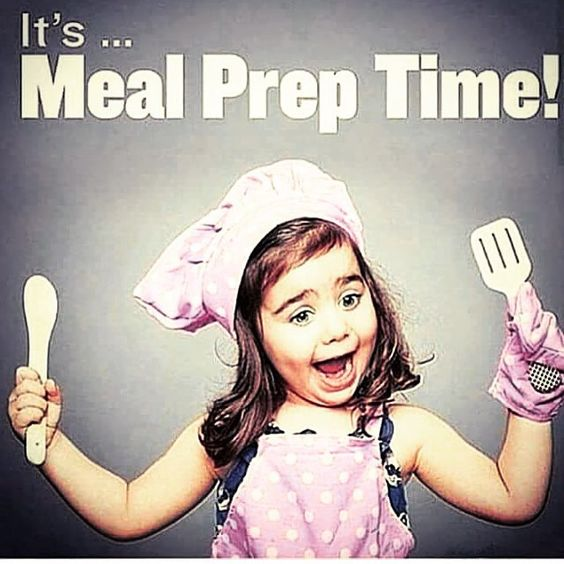 It's actually exciting to prep my foods! It's an event now instead of a hassle!!