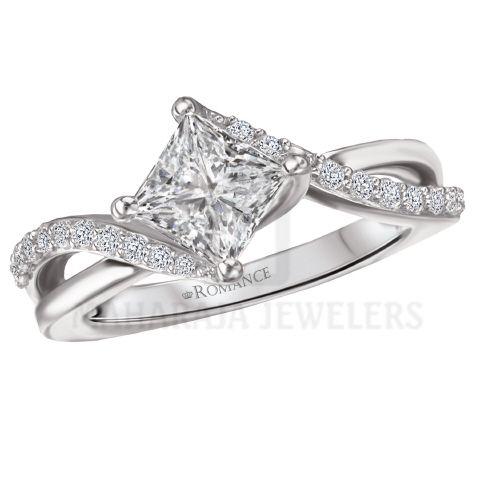 18KT Diamond Jewelry Houston - #DiamondRings #Houston
