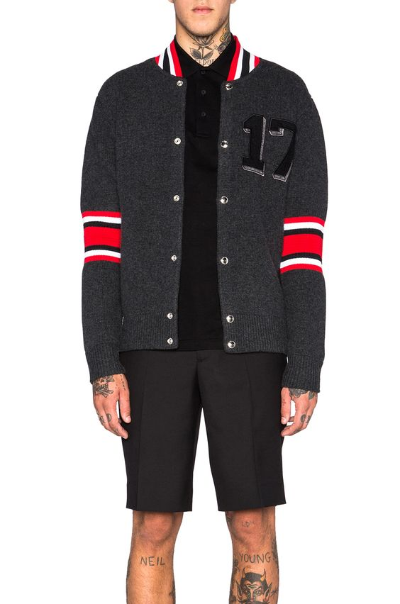 GIVENCHY 17 Patch Cardigan. #givenchy #cloth #
