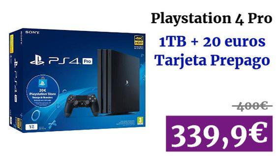 Playstation 4 Pro 20 Credito Psn Gaming Vadegangas