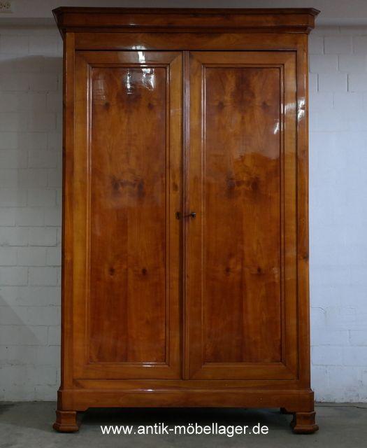 Fancy Antiker Kleiderschrank Kirsche ca Antique Wardrobe restored s