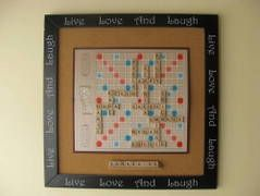 scrabble family art