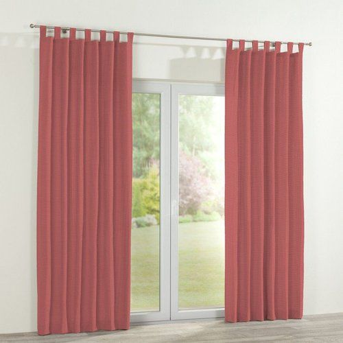 Dekoria Ashley Tab Top Single Curtain Curtains Curtains With Loops Panel Curtains