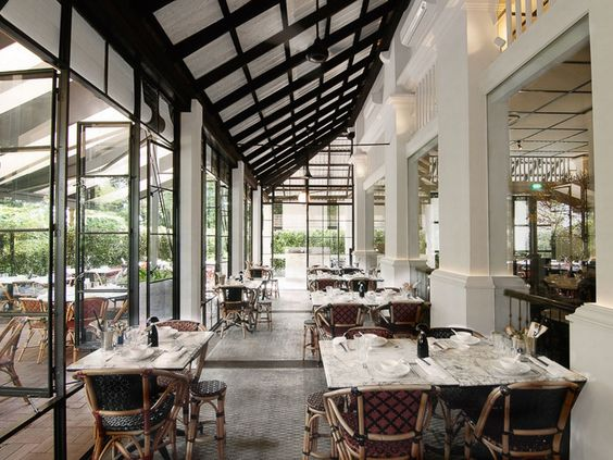 chop suey cafe dempsey singapore buscar con google wip french bistro pinterest chop suey and french bistro - Beaded Inset Restaurant Interior