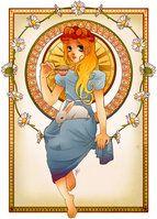Mucha Princess Series by Hannah-Alexander on deviantART