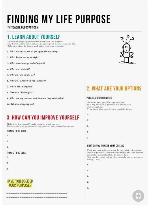 Life Purpose Worksheet Free Printables For Writing A Personal Mission Statement Make This The Be Personal Mission Statement Life Purpose Life Coaching Tools
