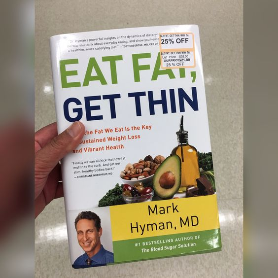 Dr. Mark Hyman shows us a new weight-loss and healthy living program based ON research and explains how to EAT FAT, GET THIN to achieve optimum wellness.