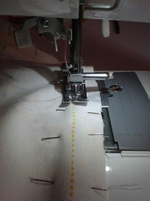 Momento de coser.