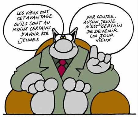 Philippe geluck jeunes vieux fle humour pinterest for Devenir prof de cuisine
