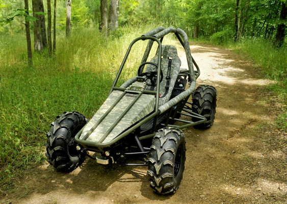 72 Volt Plug-in Electric. Silent, high performance off-road vehicle.
