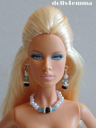 "HANDMADE JEWELRY SET - ""GODDESS""  for 11"" -12"" Fashion Dolls. Available on ebay - by dolls4emma"