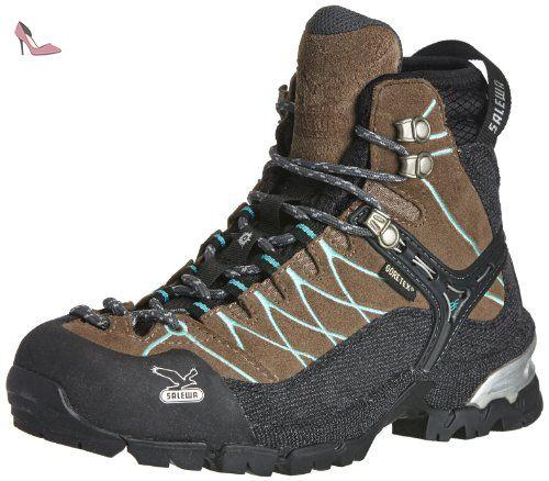 Femmes Ws Formateur Mtn Gtx Trekking Et Randonnée Chaussures Basses, Bleu, 43 Eu Salewa