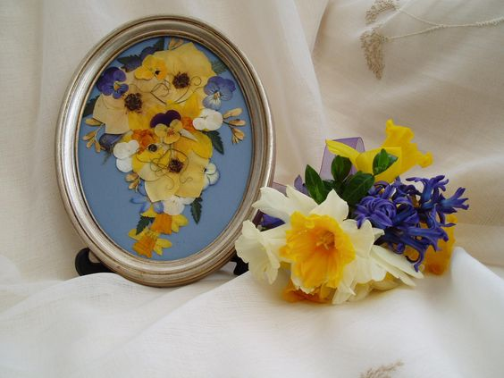 A small posy of daffodils, HI-RES