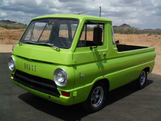 Dodge : Other Pickups A100 1965 a 100 pick up 440 ci 727 trans rare 5 window new interior rev wheels