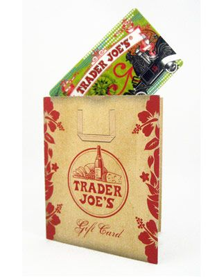 Trader Joe's Gift Card. For groceries in January while I'm job hunting.