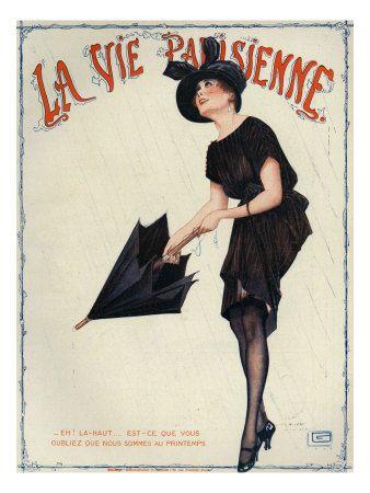 La Vie Parisienne, Magazine Cover, France, 1919
