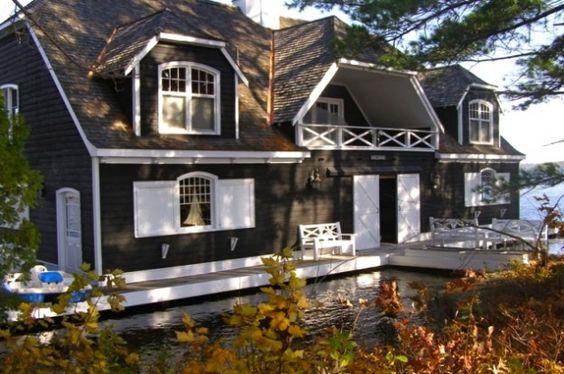 Boathouse.