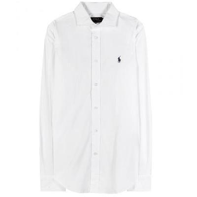 Polo Ralph Lauren - Kendall cotton shirt #shirt #ralphlauren #covetme #poloralphlauren