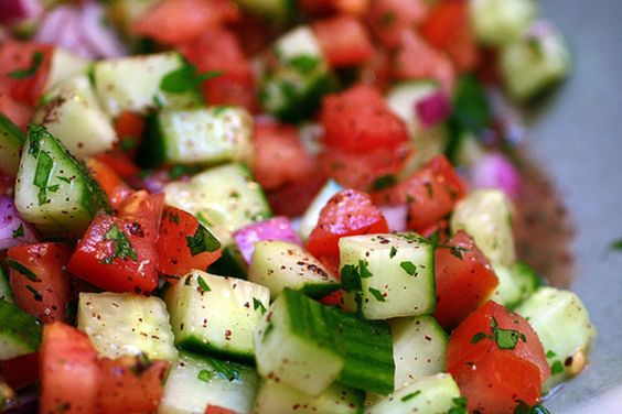 Shiny Hair Salad