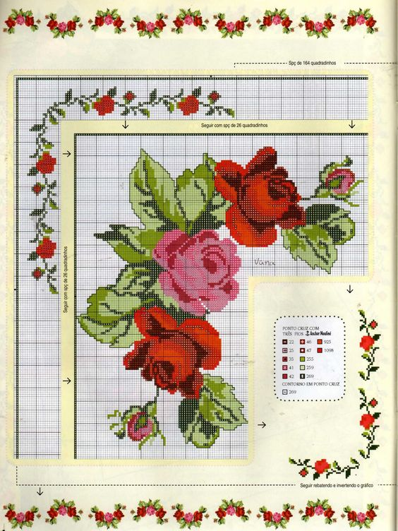 roses for tablecloth_2: