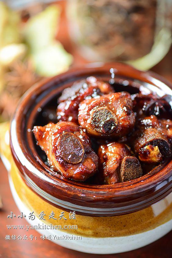 Short Pork Ribs Braised in Soy Sauce