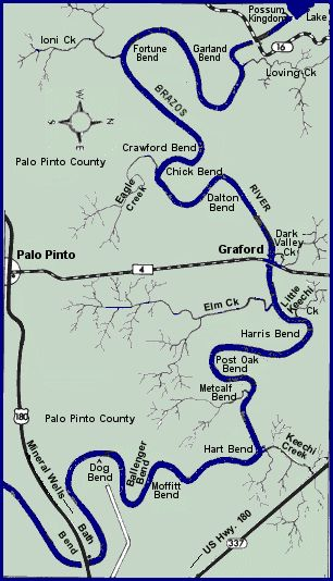 Parks rivers and maps on pinterest for Brazos river fishing