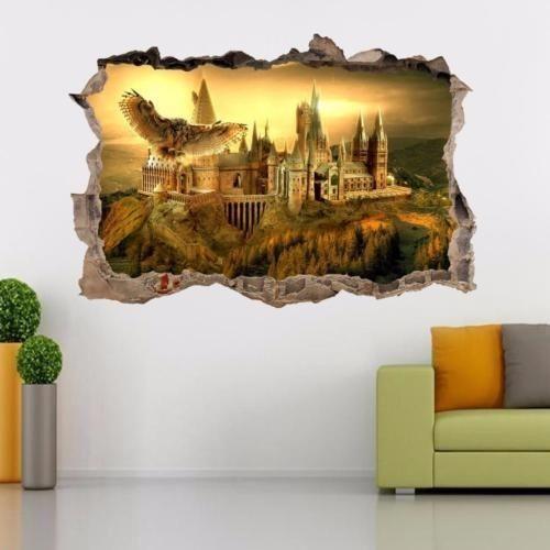 Details Uber Hogwarts Harry Potter Smashed Wandtattoo Abnehmbare Wandaufkleber Kunstwand H326 Kunstwande Wandaufkleber Hogwarts