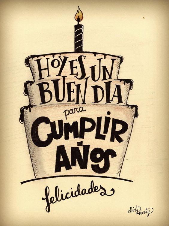 Hoy es un buen día para cumplir años. Felicidades. - www.dirtyharry.es